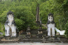 ASIA THAILAND MAE HONG SON Royalty Free Stock Images