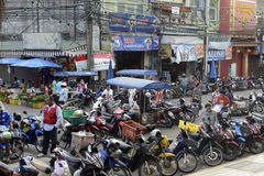 ASIA THAILAND PHUKET MARKT Royalty Free Stock Photos