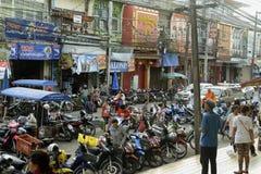ASIA THAILAND PHUKET MARKT Royalty Free Stock Images