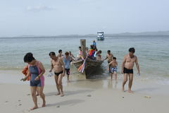 ASIA THAILAND PHUKET RAWAI Royalty Free Stock Photos