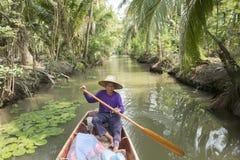 ASIA THAILAND SAMUT SONGKHRAM THA KHA LANDSCAPE Royalty Free Stock Image