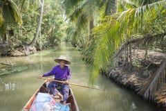 ASIA THAILAND SAMUT SONGKHRAM THA KHA LANDSCAPE Stock Photography
