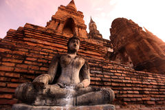 ASIA THAILAND SUKHOTHAI TEMPLE MAHATHAT Stock Images