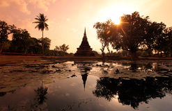 ASIA THAILAND SUKHOTHAI TEMPLE MAHATHAT Stock Photography