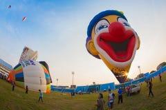 Asia Thailand underneath a balloon Stock Photo
