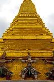 asia Thailand w Bangkok deszczu religii mozaice Obrazy Stock