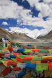 Asia, TIBET Everest mountain Royalty Free Stock Image