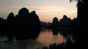 The small Li river royalty free stock image