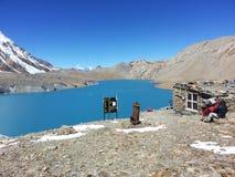 Tilicho lake royalty free stock photos
