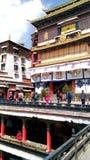 Shigatse monastery royalty free stock photos