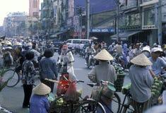ASIA VIETNAM HO CHI MINH CITY MARKET Royalty Free Stock Photo
