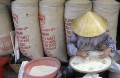ASIA VIETNAM HO CHI MINH CITY MARKET RICE Royalty Free Stock Photos