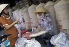 ASIA VIETNAM HO CHI MINH CITY MARKET RICE Stock Photo