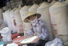 ASIA VIETNAM HO CHI MINH CITY MARKET RICE Stock Photography