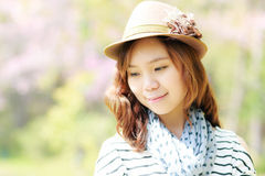 Asia woman Royalty Free Stock Image