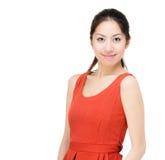 Asia woman portrait Royalty Free Stock Photos