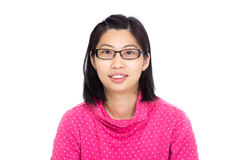 Asia woman portrait Royalty Free Stock Image