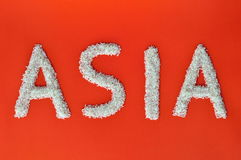 Asia writing Stock Images