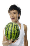 Asia young man Stock Photo
