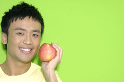 Asia young man Royalty Free Stock Photography