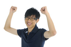 Asia Young man Stock Photography