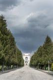Asiago, Monument für die Opfer des I WW Lizenzfreie Stockfotos
