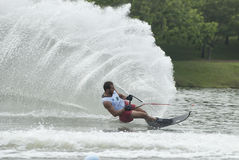 Asian 2011 Waterski Competition Royalty Free Stock Images