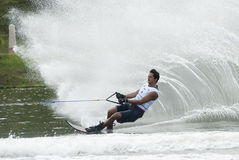 Asian 2011 Waterski Competition Royalty Free Stock Photography