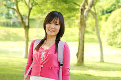 Asian adult student Stock Photo