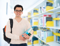 Asian adult student Royalty Free Stock Photos