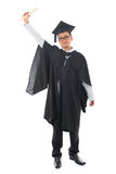 Asian adult student graduation Stock Photography