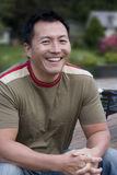 Asian American Man Smiling Stock Photos