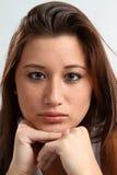 Asian American Teen Face Stock Photos
