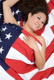 Asian American Woman Royalty Free Stock Photo