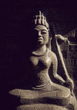 Asian ancient statue Royalty Free Stock Photos