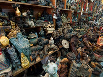 Asian antique shop Royalty Free Stock Image