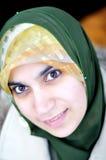 Asian arabic muslim woman Royalty Free Stock Images