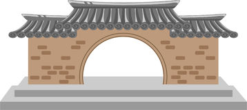 Asian architecture Royalty Free Stock Image