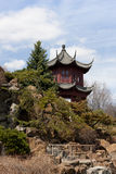 Asian architecture building in the Chinese Garden Stock Photography