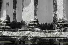 Asian architecture old styles / Thailand ancient architecture Royalty Free Stock Photos
