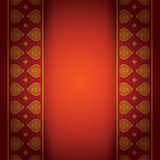 Asian art background for cover design. Asian Art Background, Thai art pattern vector for cover design, page design, poster, card Royalty Free Stock Photos