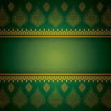 Asian Art Background, Thai art pattern vector. Stock Photos