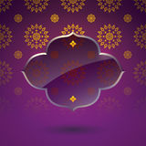 Asian Art Background, Thai art pattern vector. Stock Image