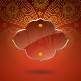 Asian art elegance style for cover design. Stock Images