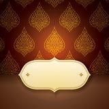 Asian art elegance style for cover design. Stock Image