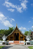 Asian Artistic Building. Asia Style of Artistic Wooden Building in Royal Public Park, Thailand Stock Images