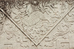 Asian arts grave background Stock Photography