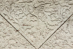 Asian arts grave background Royalty Free Stock Images