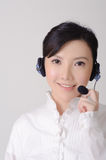 Asian assistant lady Stock Photos