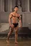 Asian athlete stock image